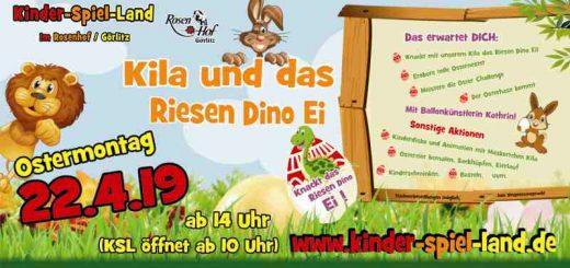 Kila und das Riesen Dino Ei